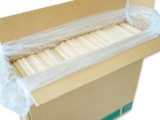 ice cream stick unbundled, milled, waxed